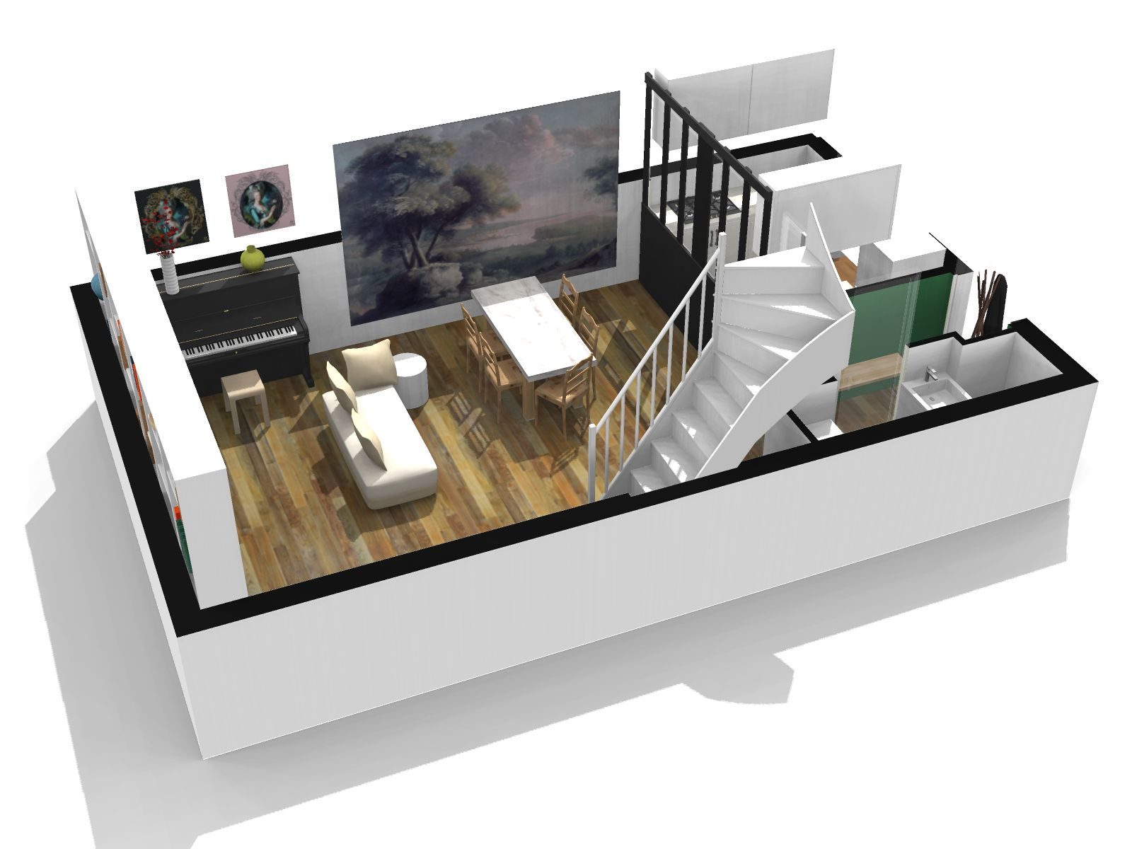 amazing ce bien avec homebyme with telecharger homebyme. Black Bedroom Furniture Sets. Home Design Ideas
