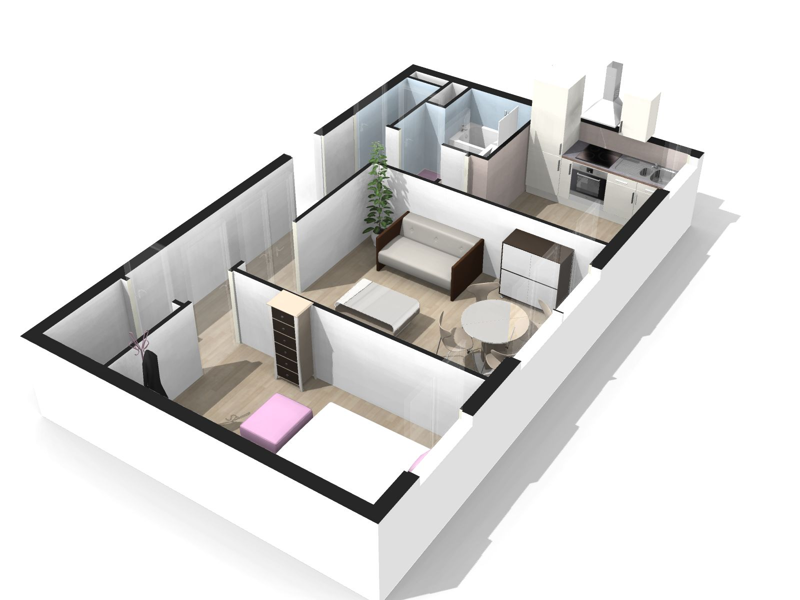 Plan de maison 3d gratuit telecharger for Plans en 3d
