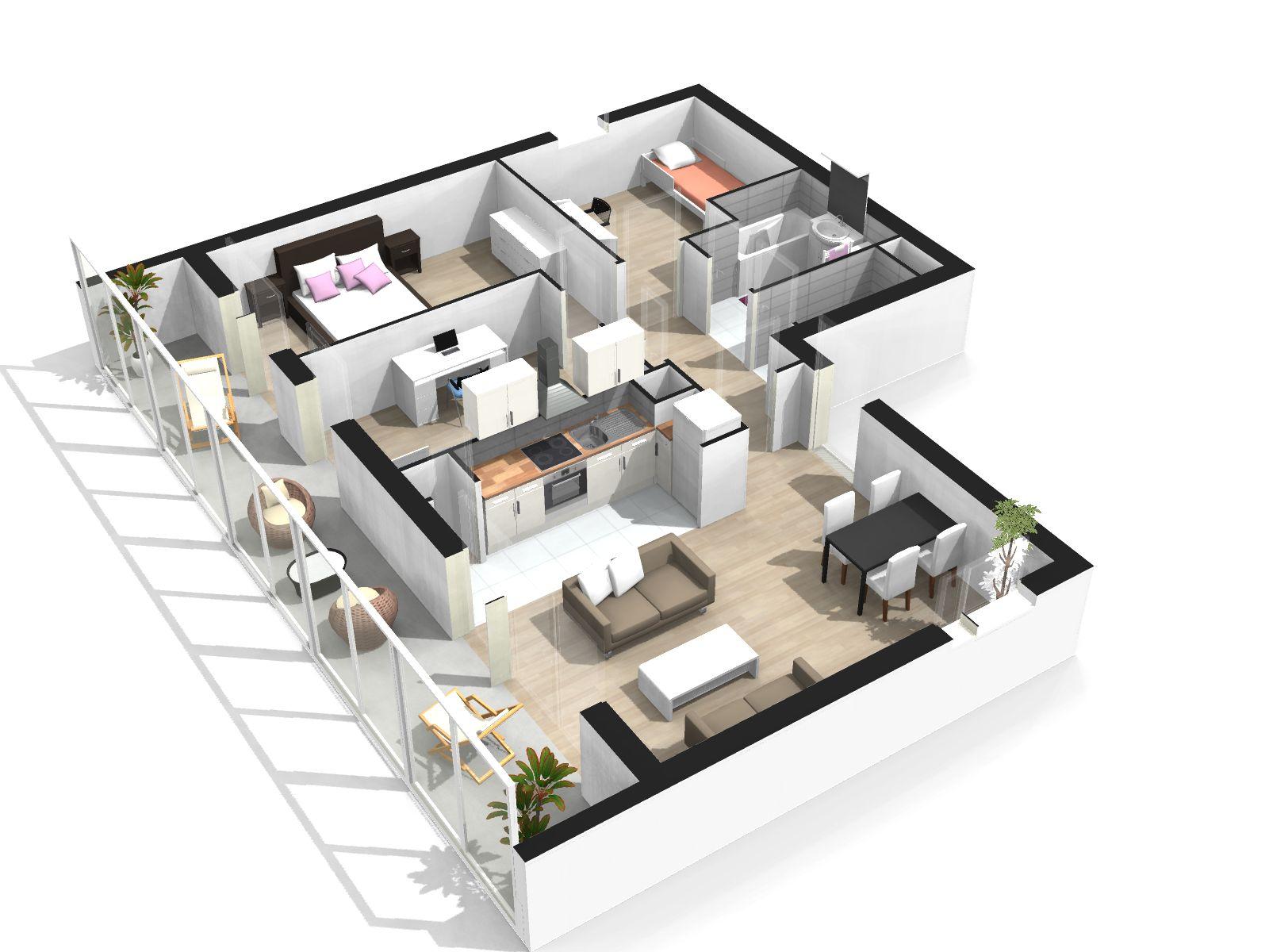 Crer maison 3d gratuit latest plan maison d gratuit en for Simulation plan de maison en ligne gratuit