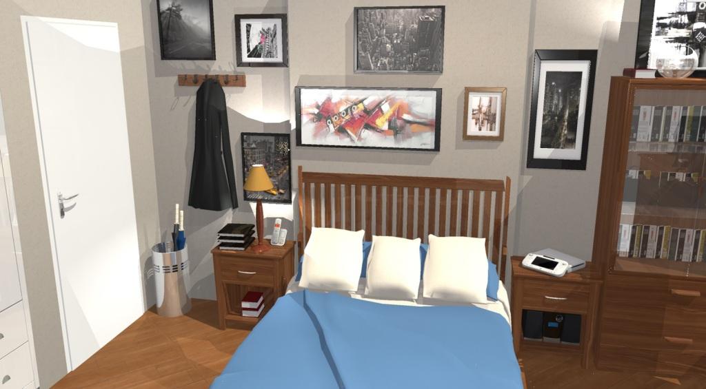 leonard's bedroom