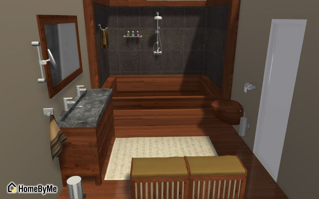 Nos 10 salles de bain pr f r es du moment homebyme for Creer une salle de bain en 3d