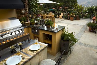 Möbel Für Außenküche : Einrichtung einer außenküche u die richtigen entscheidungen homebyme