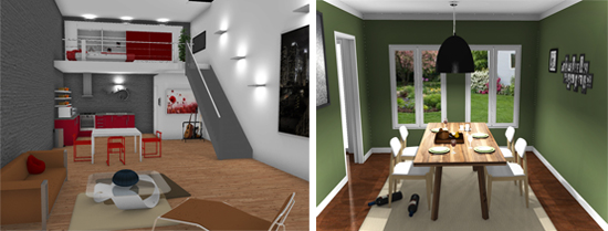 HomeByMe lets you create your own 3D home and decor.