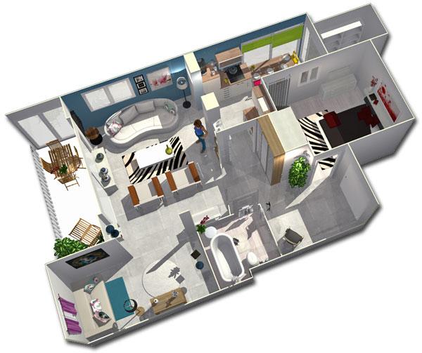 september project of the month homebyme. Black Bedroom Furniture Sets. Home Design Ideas
