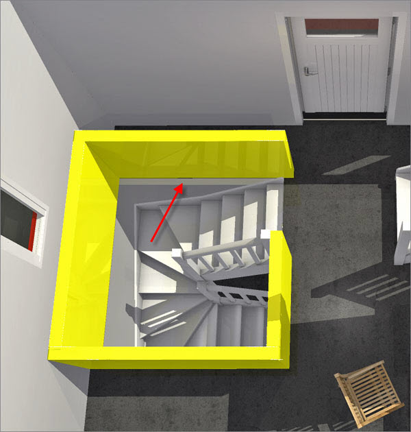 Using stairs in HomeByMe's home design software
