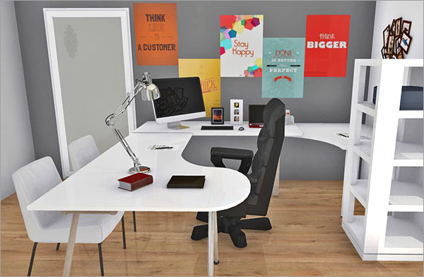 10 Great Home Offices - Ideas To Make Them Work For You   Homebyme Home Office Ideen