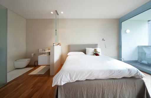 aménager une salle de bain ouverte | homebyme - Salle De Bain Ouverte Dans Chambre