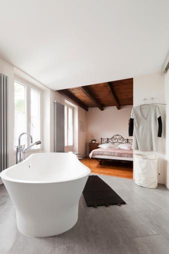 aménager une salle de bain ouverte | homebyme - Salle De Bain Ouverte