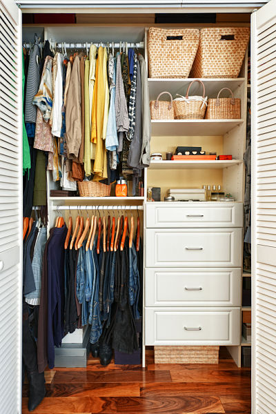 Amenagement Petit Dressing 10 points essentiels pour aménager votre dressing | homebyme