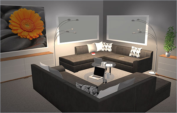 HomeByMe is an online 3D home design service to create, plan and manage home-related projects.
