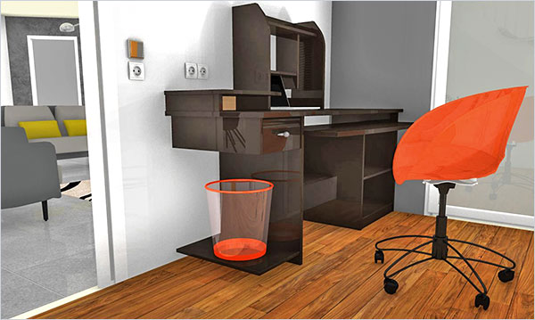Bring your interior design ideas to life in 3D with HomeByMe