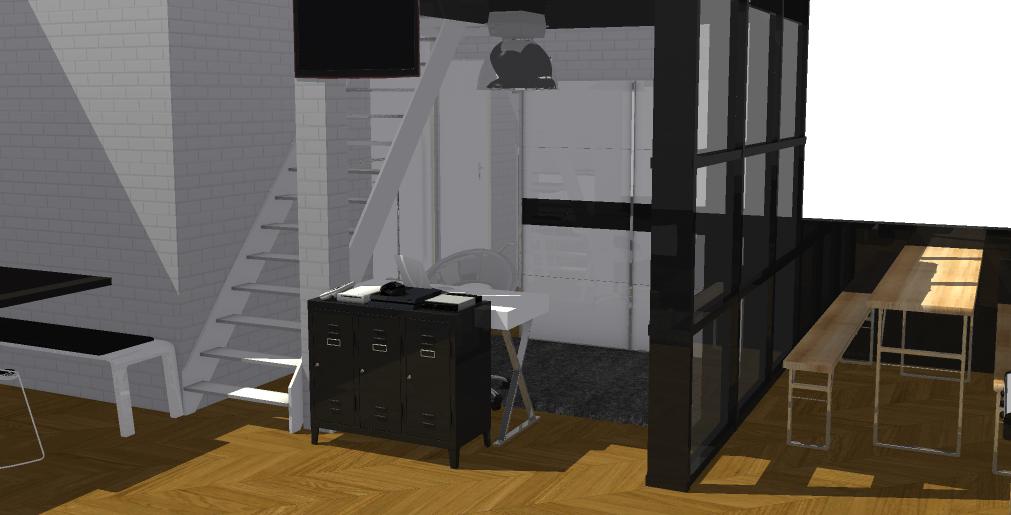 Pallvi.multani2000 - Schwarz Weiß Apartment
