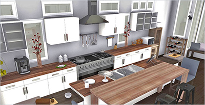 perfect kitchen layout french homebyme helps bring your interior design ideas to life in 3d - Perfect Kitchen Layout