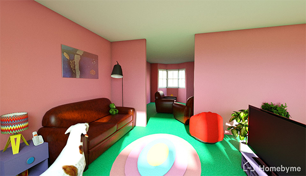 D\'oh! The Simpsons house is on Homebyme! | HomeByMe