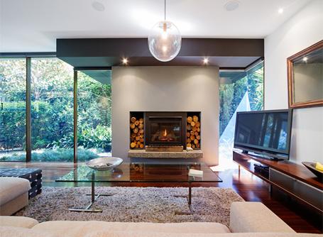 chimenea cl sica o de dise o cu l escoger homebyme. Black Bedroom Furniture Sets. Home Design Ideas